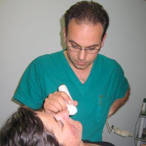 fotobiostimulatie en de therapeut therapeutisch toegepast